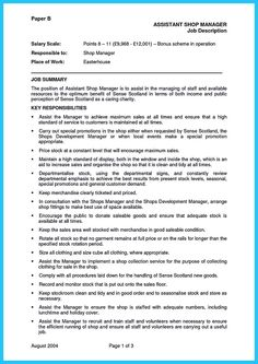 outstanding cover letter examples | retail store manager covering ... - Retail Store Manager Resume Examples