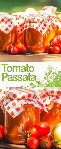 Homemade Tomato Passata Video Recipe: A tomato passata is the perfect way to preserve a glut of tomatoes and makes the perfect base for a host of stews and soups! Healthy Eating Tips, Healthy Nutrition, Tomato Chutney, Canning Recipes, Canning 101, Drink Recipes, Vegetable Drinks, Roasted Tomatoes, Fabulous Foods