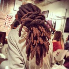 "livelaughlovelocs: "" ladyofghetto: "" Lion "" Yes! Dreadlock Rasta, Dreadlock Styles, Dreads Styles, Nattes Twist Outs, Free Form Locs, Beautiful Dreadlocks, Hair Locks, Men's Hair, Natural Hair Styles"