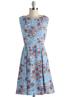 All According to Plant Dress | Mod Retro Vintage Dresses | ModCloth.com