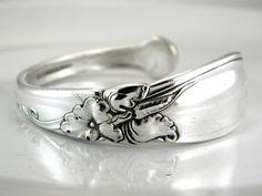 Spoon Bracelet Spoon Jewelry Silverware by SilverSpoonCreations, $24.50