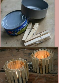 this it totally awesome! but the challenge would be to get the tuna smell out of the cans...