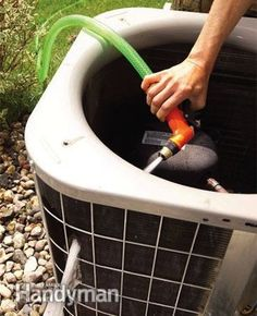 55 Must-Read Cleaning Tips & Tricks - CLEAN YOUR AIR CONDITIONER UNIT. Tips from Family Handy Man