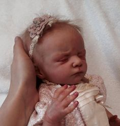 {{MartaReborn}} ❤Reborn baby doll prototype Charly by Olga Auer. Limited edition