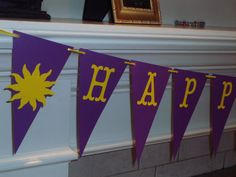 Tangled Disney Themed Birthday Party by CreativePartyBanners, $30.00