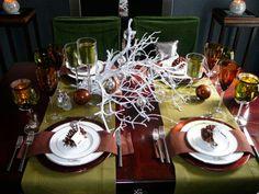 30 fotos e ideas para decorar la mesa en navidad. | Mil Ideas de Decoración