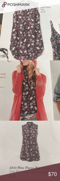 Cabi Spring 2017 New Plaza Top NWT (still in bag)/100% Polyester/machine washable CAbi Tops Blouses
