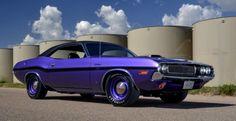 One of One Plum Crazy 1970 Dodge HEMI Challenger