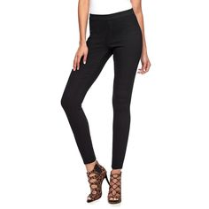 Women's Jennifer Lopez Skinny Jeggings, Size: 4 - regular, Black