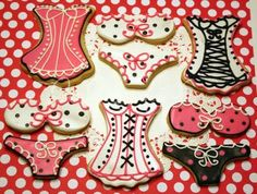 Bachelorette cookies!! @Kara Myhan