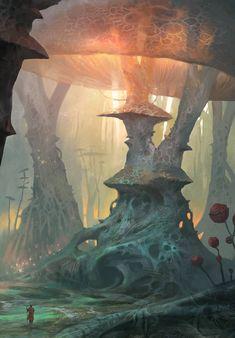 Mushroom by yonaz on DeviantArt