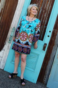 Beach Day Knee Length Dress-Wear Us Out Boutique Conroe/Montgomery Texas