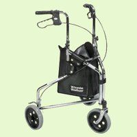Drive Medical 161 Winnie Deluxe Steel Rollator - Chrome by Drive Medical. $103.99