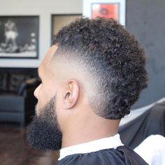 51 Best Hairstyles For Black Men Guide) Really Short Haircuts, Black Men Haircuts, Black Men Hairstyles, Men's Haircuts, Fohawk Haircut Fade, Drop Fade Haircut, Burst Fade Mohawk, Mohawk For Men, Mohawk Hairstyles Men
