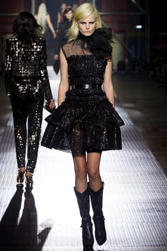 Gothic Couture: Lanvin Spring 2013 RTW.