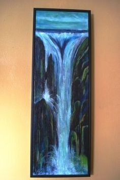 Billy Hedel, Dream Waterfall, $225 Arts Council of Southwestern Indiana 318 Main St. in downtown Evansville