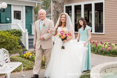 Pretty lace and tulle wedding dress with rhinestones - Houston wedding photography - MD Turner Photography