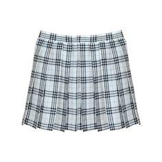 WHITE GRID TENNIS SKIRT (292.150 VND) ❤ liked on Polyvore featuring skirts, bottoms, clothing - skirts, white knee length skirt, patterned skirts, print skirt, knee length pleated skirt and patterned pleated skirt