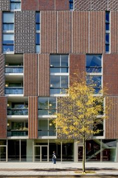 Block A Noordstrook in Amsterdam, The Netherlands by Dick van Gameren architecten