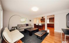 open concept living room/ kitchen combo. Gorgeous and move in ready. 110-65 64th Rd. Forest Hills NY 718-229-2922 for more info