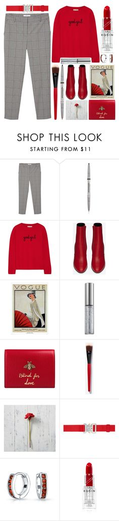 """""""Good Girl"""" by grozdana-v ❤ liked on Polyvore featuring MANGO, Chinti and Parker, Yves Saint Laurent, WALL, Urban Decay, Gucci, Smashbox, Pottery Barn, Alyx and Bling Jewelry"""