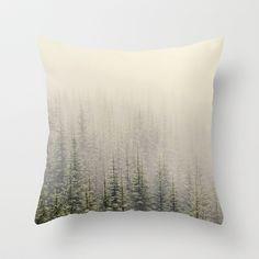 Mountain Haze Throw Pillow by Kurt Rahn - $20.00