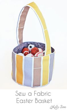 Small fry co fabric easter basket tutorial quilting and fabric easter basket tutorial quilting and sewing projects pinterest basket ideas the ojays and easter baskets negle Image collections