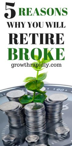 You will likely retire broke if you don't make saving for retirement a priority, early retirement, retirement savings, save for retirement, #retirement,