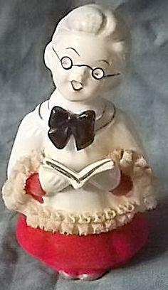 Vintage Choir Boy W Spectacles Figurine