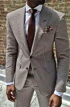 Black and white checkered suit with tie. #weddingideas #groom #groomsmen #weddings #mensfashion #bespoke #menstyle #menswear #weddingsuits #customsuits #menssuits #tuxedo #mens #weddingtuxedo #tux #giorgentiweddings #suit #summerstyle