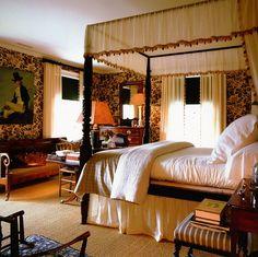 Gil Schafer's bedroom