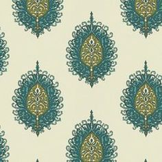 WESTMINISTER AQUA/GREEN - Cosmopolitan - More Fabric Collections - Fabric - Calico Corners