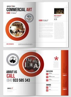 Beautiful-Red-Brochure-Design-ideas #design #brochure #layout