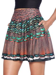 Get Basted Pocket Skater Skirt - LIMITED (US ONLY $52USD) by Black Milk Clothing