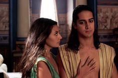 Sibylla Deen and Avan Jogia in Tut Avan Jogia, Tut Movie, Ramses, Zendaya Hair, Egyptian Kings, Egyptian Art, Ancient Egypt History, Spike Tv, Princess Aesthetic
