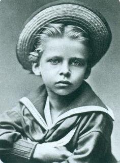 Prince Waldemar de Prussa (1868-1979) fils de l'empereur Frédéric III et de la reine Victoria. Décédé de la diphtérie.
