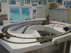 Lobster Boat, Model Train Layouts, Bane, Model Trains, Corner Bathtub, Shelving, Miniature, America, Models