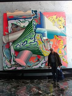 Frank Stella & his art Frank Stella Art, Post Painterly Abstraction, Abstract Art, York Art Gallery, 3d Art Projects, 8th Grade Art, Action Painting, Street Art Graffiti, Painting Inspiration