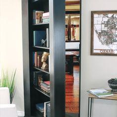 Secret Bookcase Door Buy Now Secure Hidden Hidden Door Store Hidden Door Bookcase, Hidden Doors In Walls, Bookcase Closet, Bedroom Bookcase, Bookcases, Garderobe Design, Attic Rooms, Attic Playroom, Attic Apartment