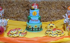 Chica Sweet Table (from The Sunny Side Up Show on PBS) made by Simply Sweet Creations
