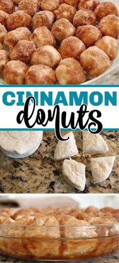 Recipes With Biscuits Cinnamon donuts are so easy to make and these donuts are baked which means you can make it any morning without a hassle! This donut recipe is quick and easy with canned biscuit dough and some cinnamon sugar! It's a family favorite! Baked Donut Holes, Donut Hole Recipe, Baked Donuts, Donuts Donuts, Cinnamon Sugar Donuts, Cinnamon Biscuits, Cinnamon Rolls, Dessert Aux Fruits, Low Carb Cheesecake