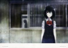 another misaki mei eyepatch seifuku wet clothes screening Manga Art, Manga Anime, Anime Art, Koi, Another Misaki Mei, Maou Sama, Another Anime, Anime Kawaii, Yandere