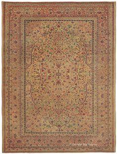 HADJI JALLILI TABRIZ, Northwest Persian 7ft 9in x 10ft 4in 3rd Quarter, 19th Century
