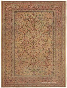 HADJI JALLILI TABRIZ, Northwest Persian 7ft 9in x 10ft 4in 3rd Quarter, 19th Century