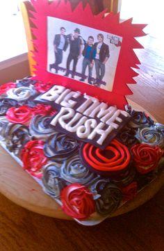 Big Time Rush - my first boy band birthday cake!!