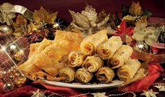 Συνταγες για τις ωραιοτερες Διπλες!!!! Greek Sweets, Dessert, Cooking Recipes, Cheese, Meat, Chicken, Spirit, Food, Christmas