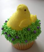 Easter Cupcake Project for Kids