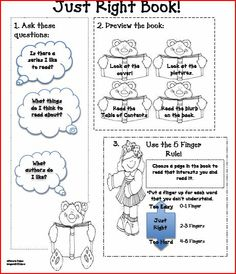how to pick a just right book   Peace, Love, First Grade: Daily Five