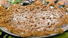 the chew | Recipe  | Daphne Oz's Funnel Cakes