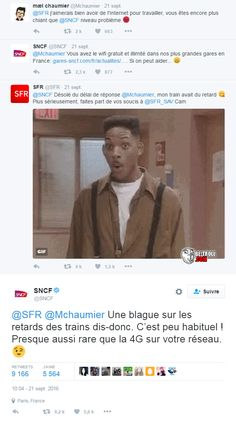 Sa part en clash Funny True Quotes, Funny Tweets, Funny Jokes, Hilarious, Reaction Pictures, Funny Pictures, Funny Conversations, Video Humour, Rage